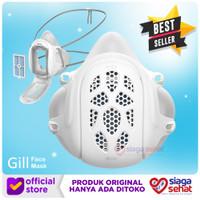 Gill Face Mask Reusable Respirator - Masker Pakai Ulang