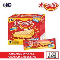 CHIZMILL WAFFLE CRANCH CHEESE 7G [1 BOX ISI 20PCS]