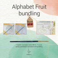 Alphabet Fruit BUNDLING by Krea Paper