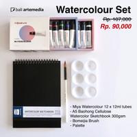 Bali Artemedia Beginner Watercolor Set