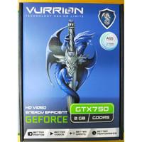 VGA Gaming VURRION GTX 750 2GB DDR5 128Bit GAMING VGA ORI