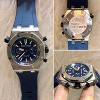JAM TANGAN PRIA AP NAVY RUBBER LIMITED JAPAN CLONE 1:1 ORIGINAL