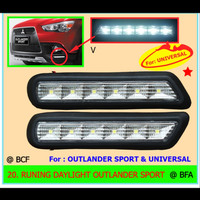 Lampu Running Daylight Outlander Sport - Aksesoris Mobil