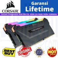 RAM Corsair DDR4 RGB PRO SL 32GB 2x16GB 3200MHz C16 CMH32GX4M2Z3200C16