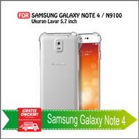 Case Samsung Note 4 Soft Case Anti Crack Anti Shockproof