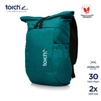 TORCH TAS RANSEL FOLDABLE BACKPACK SHIROI 19+2L TOSCA