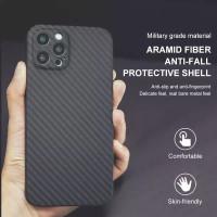 Original Case iPhone 12 Mini 12Promax 12 Pro Max Casing Carbon Aramid