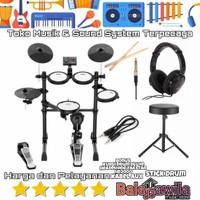 Drum Elektrik Electric Aroma TDX16S TDX 16S Mesh Kit Bonus Bangku Drum