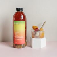 Fruit Ice Tea 1L ( Dengan Potongan Buah Asli)