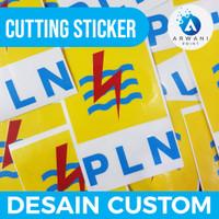 Cutting Sticker Custom Bahan Oracal Desain Bebas