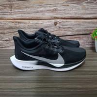 Sepatu Pria / Wanita Nike Zoom Pegasus 35 Turbo Black White