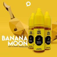 Authentic Liquid Banana Moon Salt Nic 15ML by Lab51 Soft Banana Cake -