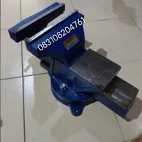 Ragum Catok Putar 6 Inch - 150 mm Merk APEX - Bench Vice Swivel Base