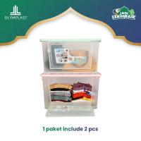 Olymplast Container Box Pure / Kotak Penyimpanan Transparan - OBC PURE