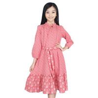 KIDS ICON - Dress Semi Muslim Anak CURLY 04-14 Thn - LYD01300200 - 4 thn