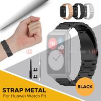 Strap Bracelet Stainless Steel Metal For Huawei Watch FIT