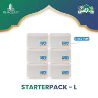 Olymplast Starterpack Rumah Rapi L - Tempat Penyimpanan 6 Pcs