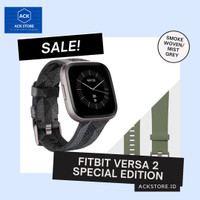 FITBIT Versa 2 Special Edition Navy Copper Rose Smoke Woven Mist Grey