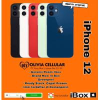 iPhone 12 64GB/128GB/256GB [ Garansi Resmi IBOX ] - Hitam, 64 gb