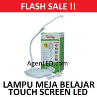MYVO Lampu Meja Belajar LED Desk Portable charge USB cas baca MD-1800