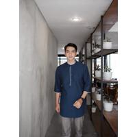 Kurta Pakistan Stanford 3/4 / Baju Muslim Pria / Baju Koko Pria Dewasa
