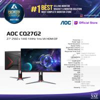 Monitor LED AOC CQ27G2 27 2560 x 1440 144Hz 1ms VA HDMI DP