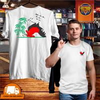 SJR T Shirt KAOS DISTRO PRIA SABLON COTTON COMBED 28s AYAM JAGO