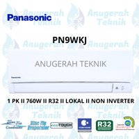 AC SPLIT PANASONIC 1 PK 1 PK R32 STANDAR NON INVERTER - PN9WKJ