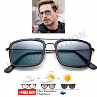 Frame Kacamata Tony Stark Iron Man Kacamata Superman Fashion Kekinian