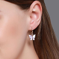 anting fashion kupu kupu butterfly earrings jan236