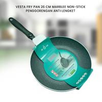 VESTA FRY PAN 26 CM MARBLE NON-STICK - PENGGORENGAN ANTI LENGKET