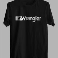 Tshirt kaos baju pria BIG SIZE 2XL 3XL 4XL WRANGLER KEREN TERBARU