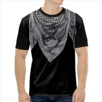 Baju Kaos Pria-Kaos Islami-Kaos Hijrah-Sorban 3D 4 (Ready BIG SIZE)