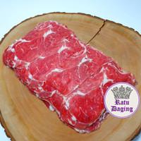 Sukiyaki / Yakiniku / SHABU'' - Daging Sapi Slice tipis - 1Pack @500gr