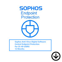 Sophos Central Endpoint Protection 25-49 USERS [Anti Virus Digital]