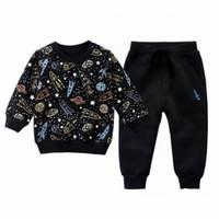Setelan Sweater Falcon 1 - 5 Thn Maxkenzo Baju Anak BerKualitas - S