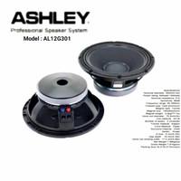 Speaker Komponen Ashley AL12G301 Woofer 1000watt 12inch Original