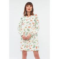Minimal Bloom V-Neck Dress Bloom