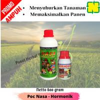 Pupuk Pertanian Organik Poc Nasa 500cc Dan Hormonik 100cc.