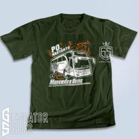 Kaos Bus Po Haryanto Paradise Baju Bismania Custom Busmania Tshirt Bis