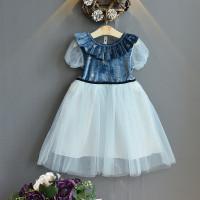 PAKAIAN BAJU IMPORT DRESS PESTA TUTU #P69 ANAK PEREMPUAN / CEWEK MURAH - 1 Warna, Size 13/130