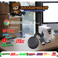 PALING MURAH !! ALL NEW GOOGLE CHROMECAST 3rd GENERATION / Generasi 3