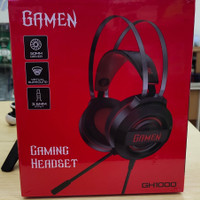 Headset Gaming Gamen GH1000 Black