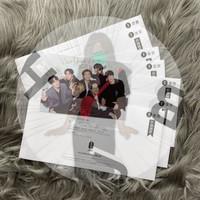 BTS JAPAN OFFICIAL FANCLUB New Year Postcard