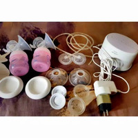 philips avent twin electric breastpump pompa asi preloved