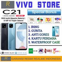 REALME C21 RAM 3/32 GB GARANSI RESMI REALME INDONESIA