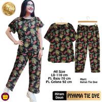 LM 21743 Setelan Baju Piyama Pajamas Wanita PIYAMA TIE DYE TERBARU