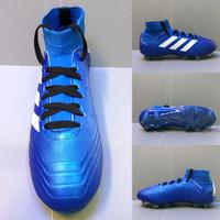 Sepatu bola Adidas predator boost componen - Biru Putih, 39