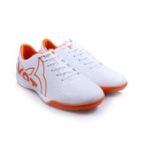 Sepatu Futsal Ortuseight Catalyst Basilisk IN White/Ortrange
