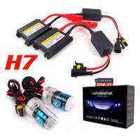 HID H1 H7 H11 H4 XENON AVARNOVA SET ISI 2 + BALAST BOHLAM LAMPU LED - H7